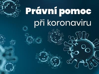 Právní pomoc při koronaviru